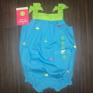 NWT carters girls outfit ☀️